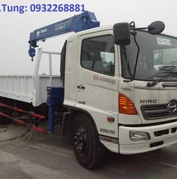 Xe Hino gắn cẩu Tadano 3 tấn, 4 tấn, 5 tấn, 6 tấn, cẩu tự hành Tadano, cẩu Tadano gắn trên xe tải, cẩu Tadano, cau tadano