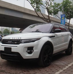 Range Rover Evoque Dynamic Black Edition Model 2015.