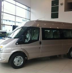 Ford Transit 2016 giá cạnh tranh, trả góp lãi xuất thấp, đủ mầu .