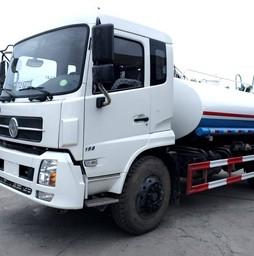 Bán xe phun nước rửa đường tưới cây DongFeng 9 khối mới nhập.