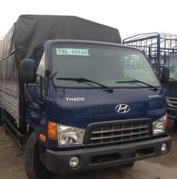 Bán xe Hyundai 3,1 tấn nâng tải lên 5 tấn. HD500 5 tấn giá tốt nh.