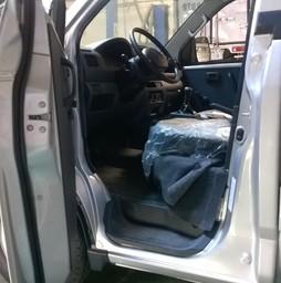 Xe Tải Suzuki Carry Pro 750kg 1.6L Nhập Khẩu Màu trắng đóng thùng.