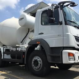 Xe bồn trộn FUSO MIXER nhập khẩu tiêu chuẩn châu âu thể tích b.