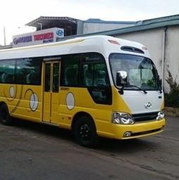Đại lý Phân phối xe Hyundai County Thân Dài Xe Tracomeco Limousine đ.