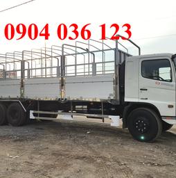Xe tải hino 3 chân thùng 9m2,Xe tải Hino 24 tấn FL8JTSL, 3 chân, thùng.