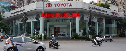 showroom Toyota Thăng Long