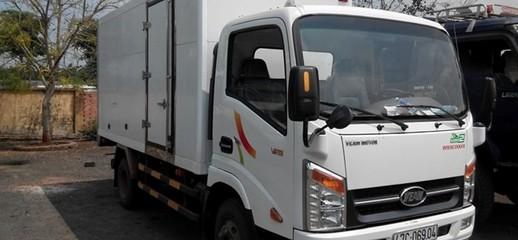 Đại lý Veam 3s Miền Nam, Chuyên bán xe tải Veam 1.9 tấn, 2.5 tấn máy Hyundai D4BH thùng kín, thùng bạt giá tốt, Ảnh số 1