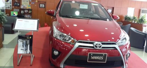 Toyota Yaris 1.5G 2017 mới xe giao ngay khuyến mãi tốt, Ảnh số 1