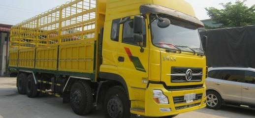Xe tải dongfeng 4 chân nhập nguyên chiếc bán xe tải dongfeng 4 chân máy cumin, Ảnh số 1