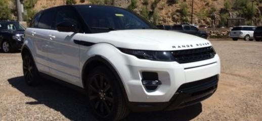Land Rover Range Rover Evoque Dynamic 2014 Trắng/Đen, Ảnh số 1