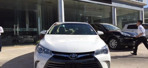 Bán Toyota Camry XLE 2015 màu Trắng Bạc nội thất Vàng kem, Ảnh số 1