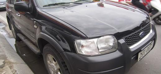Bán xe Ford escape 2004, số tự động, màu đen, Ảnh số 1
