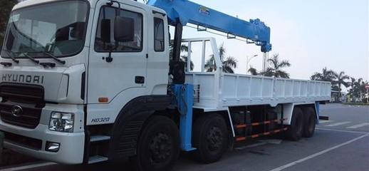 Bán xe cẩu tự hành 10 tấn Dongyang giáp xe Dongfeng 4 chân, Ảnh số 1