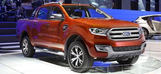 Xe ford ranger màu ghi xám, bạc, vàng cát, trắng đỏ, cam, ford ranger 2016 mới, giá xe ranger nhập, Ảnh số 1