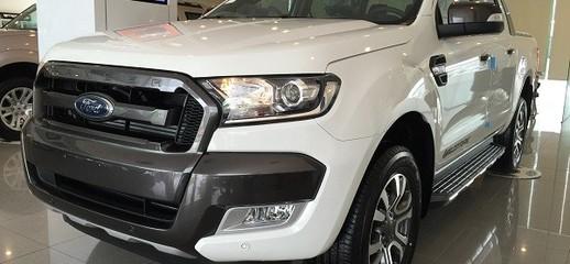 Ford ranger màu trắng, đại lý bán xe ranger màu trắng, ford ranger nhập khẩu màu trắng 2017, Ảnh số 1