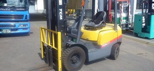 Xe nâng dầu TCM FD30T4 tải trọng nâng 3000kg.