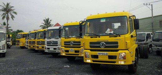 Xe tải Dongfeng Hoàng Huy B170 tải 9.6 tấn 9,6 tấn phiên bản mới nhất, Ảnh số 1