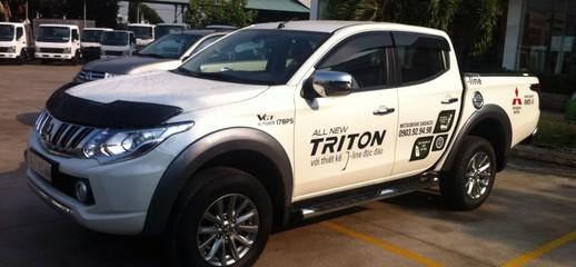 Bán xe Mitsubishi Triton 4x2 AT Tặng phiếu bảo dưỡng miễn phí 2 năm trị giá 20 triệu, Ảnh số 1