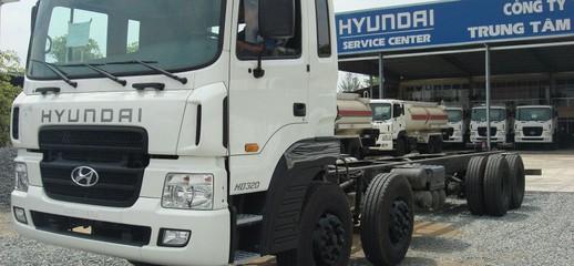 Xe Hyundai Hd320 Hd360 4 chân 5 chân nhập khẩu xitec đóng bồn xăng d.