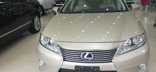 Lexus ES 300H nhập mỹ,màu vàng,nội thất kem,xe và giấy tờ giao ngay, Ảnh số 1