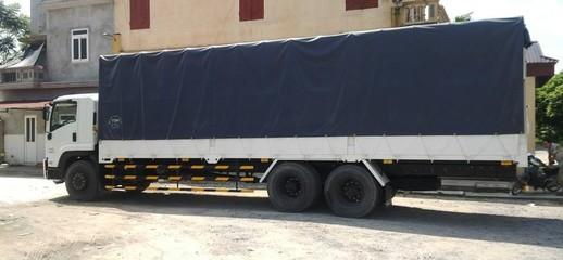 Xe tải Isuzu 3 chân FVM34W tải 16 tấn thùng dài 9m4,máy bền,tiết kiệm nhiên liệu với nhiều khuyến mại hấp dẫn, Ảnh số 1