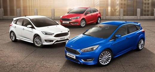 Ford Focus 2017 dòng xe bán chạy nhất thế giới đủ màu trắng, đen, đỏ, ghi xám, nâu hổ phách, bạc.. giao xe ngay, Ảnh số 1