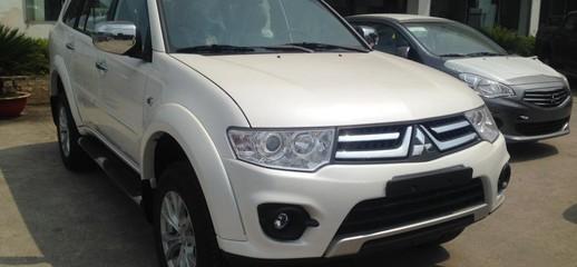 Xe du lịch mitsubishi pajero máy xăng 1 cầu tặng 10 triệu cho khách hàng khi mua xe, Ảnh số 1