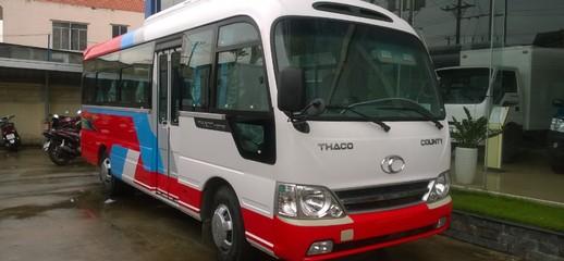 Giá xe khách Hyundai 29 chỗ, Xe khách Thaco County HB73S máy Hyundai D4DD, Ảnh số 1