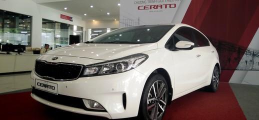 Kia Long Biên : Giá xe Kia Cerato 2017,Kia Cerato 1.6MT/1.6 AT/ 2.0 AT,Mua xe Kia Cerato 2017 trả góp giá tốt tại Hà Nội, Ảnh số 1