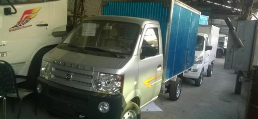 Bán xe tải dongben 800 kg thùng bạt, thùng kín trả góp/ Giá xe tải dưới 1 tấn, Ảnh số 1