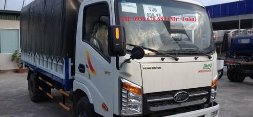 Xe tải Veam VT350,tải trọng 3,5 tấn,động cơ Hyundai,cabin ISUZU, Ảnh số 1