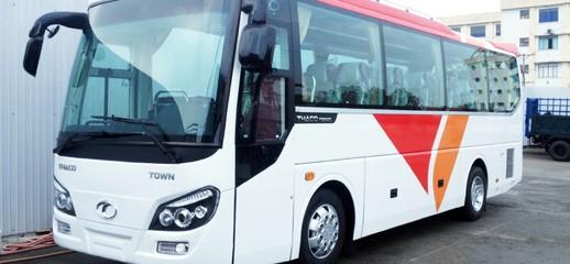 Giá xe khách THACO 29 chỗ TOWN TB82S bầu hơi thân dài 8,2m, Ảnh số 1