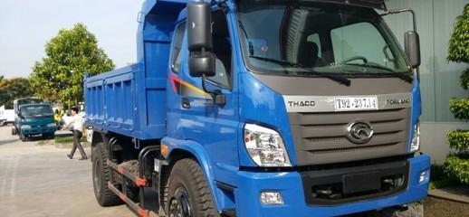 Mua bán Xe ben 9,1 tấn thaco trường hải mới nâng tải ở hà nội.