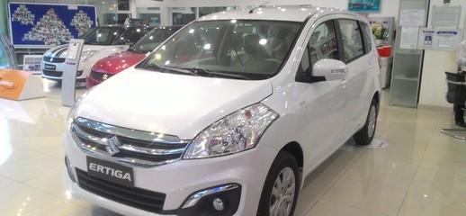 Ô tô Suzuki Ertiga 7 chỗ màu trắng 2016 nhập khẩu giá tốt nhất SÀI GÒN, Ảnh số 1