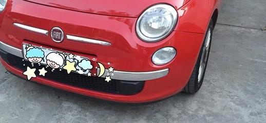 Bán e Fiat 500 1.2 đời 2009 màu đỏ quá đẹp, nữ SD, đi rất ít, 50.000km, Ảnh số 1