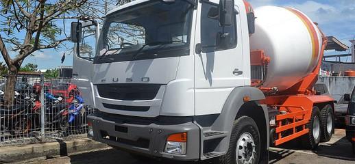 Xe trộn bê tông Fuso FJ 7 khối/7m3 nhập khẩu nguyên chiếc, xe trộn bê tông Fuso FJ nhập khẩu., Ảnh số 1