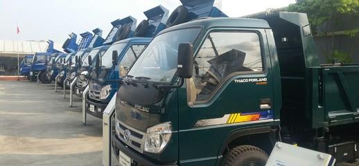 Xe ben 6 tấn FLD600B 4WD trường hải hai cầu mới nâng tải giá rẻ, Ảnh số 1