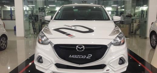 Mazda Vĩnh Phúc, Tuyên Quang, Hà Giang, Yên Bái bán xe Mazda 2 AT có ưu đãi tiền mặt, hỗ trợ trả góp LH: 0981.069.838, Ảnh số 1