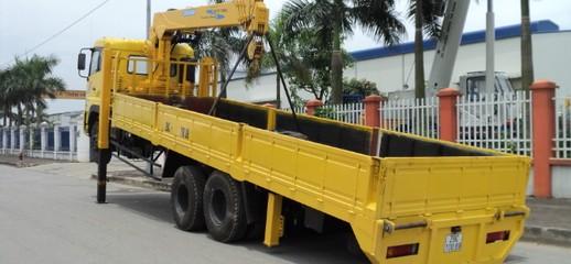 Xe tải hyundai HD320, Dongfeng, Hino gắn cẩu, Xe tải cẩu,Bán và đóng mới các loại xe tải cẩu giá tốt nhất, Ảnh số 1
