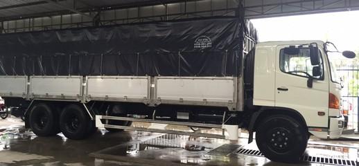 Xe tải HINO 16 tấn thùng mui bạt, Ảnh số 1
