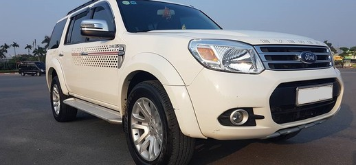 Bán Xe Ford Everest 4X2WD AT 2014 Mầu Trắng, Ảnh số 1