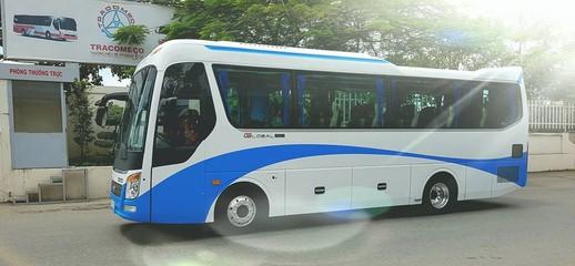 Xe 29 chỗ bầu hơi, giá xe 29 chỗ bầu hơi, xe khách thaco tb82s, Ảnh số 1