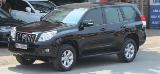 Toyota Prado 2011 màu đen, Ảnh số 1