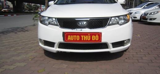 Kia Forte SLI 2010 nhập khẩu, full option, màu trắng, 469 triệu, Ảnh số 1