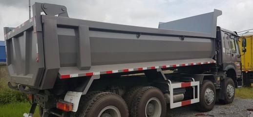 Bán xe ben Howo 4 chân máy 371, Xe Hổ vồ tải trọng 16.1 tấn thùng đúc Nghệ AN 0984983915, Ảnh số 1