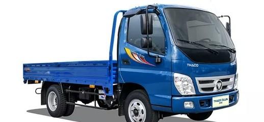 Xe Tải Thaco Ollin345 K2800 2.4 tấn, xe tải izuzu 2.4T có máy lạnh, Xe Tải Thaco 2.4 Tấn chạy trong Tp, Ảnh số 1