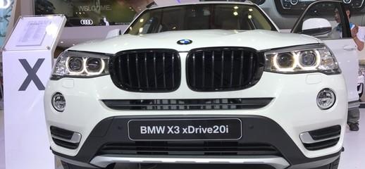 Thông Số và Hình Ảnh BMW X3 2017 Mới, Bán xe BMW X3 2017 Giá Rẻ Nhất, Chi Tiết BMW X3 Nhập Khẩu 2017, Giá Xe BMW X3 2017, Ảnh số 1