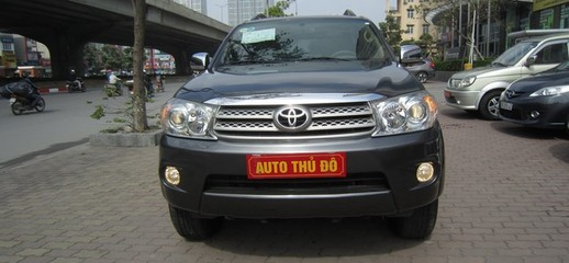 Bán Toyota Fortuner 2.7 4x4, máy xăng, 2009 AT, 595triệu, Ảnh số 1