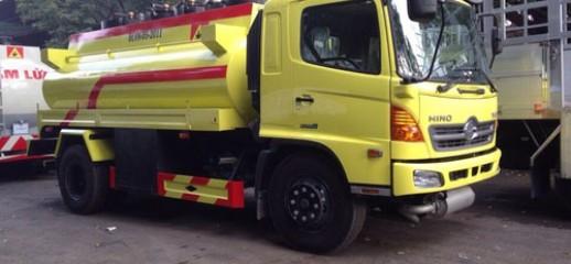 Cần bán xe bồn hino xăng dầu 10m3, Ảnh số 1