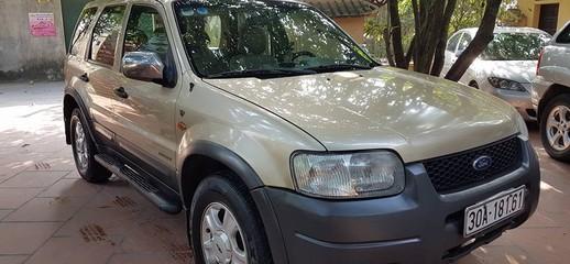 Bán Ford Escape màu vàng đồng, sản xuất 2002 số tự động, xe đẹp, Ảnh số 1